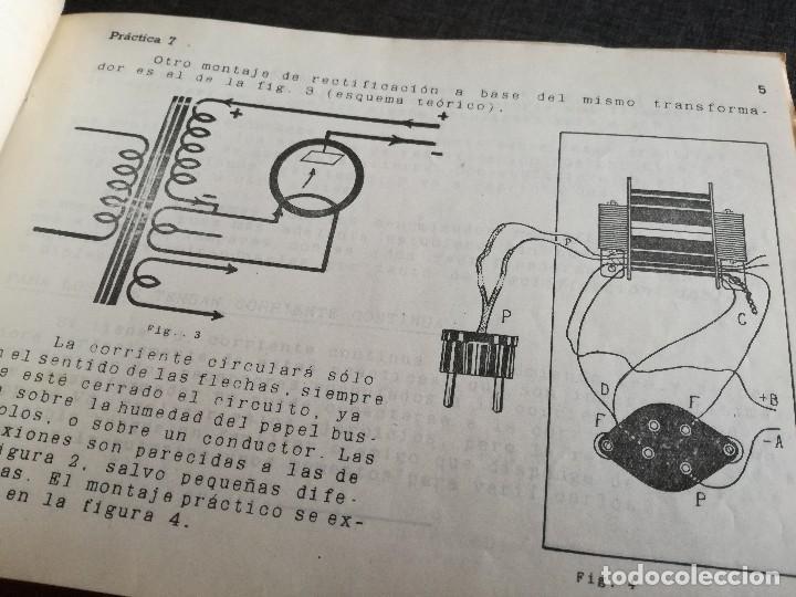 Radios antiguas: CURSO DE RADIO, FERNANDO MAYMÓ (ESCUELA RADIO BARCELONA MADRID) - Foto 10 - 117395639