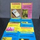 Radios antiguas: RADIORAMA LOTE DE 9 REVISTAS , AÑOS 70 - ELECTRONICA- RADIO. Lote 73443639