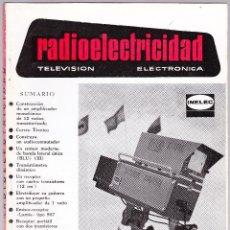 Radios antiguas - RADIOELECTRICIDAD Nº 340 - 1967 - TELEVISION - ELECTRONICA - 118154451