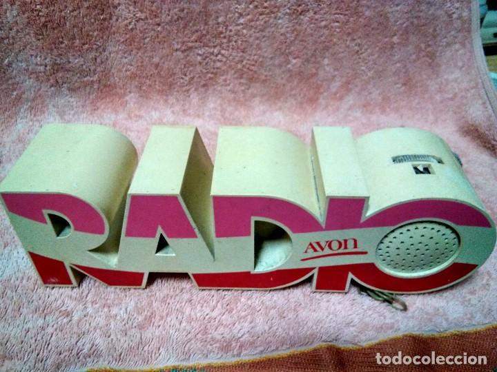 ANTIGUA Y RARA RADIO PUBLICIDAD DE AVON (Radios, Gramófonos, Grabadoras y Otros - Catálogos, Publicidad y Libros de Radio)