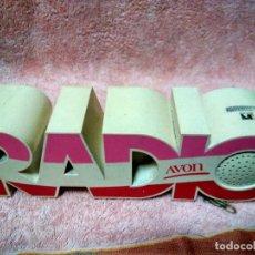 Radios antiguas: ANTIGUA Y RARA RADIO PUBLICIDAD DE AVON. Lote 118395795