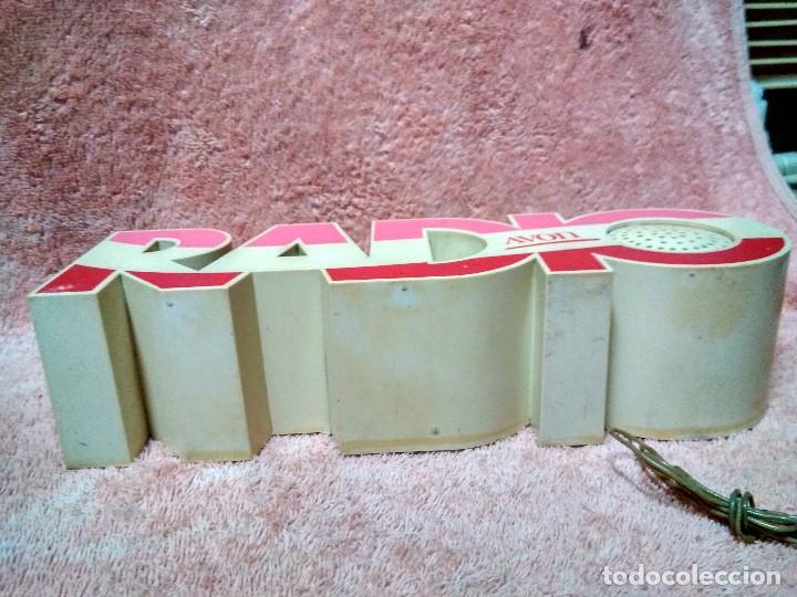 Radios antiguas: ANTIGUA Y RARA RADIO PUBLICIDAD DE AVON - Foto 3 - 118395795
