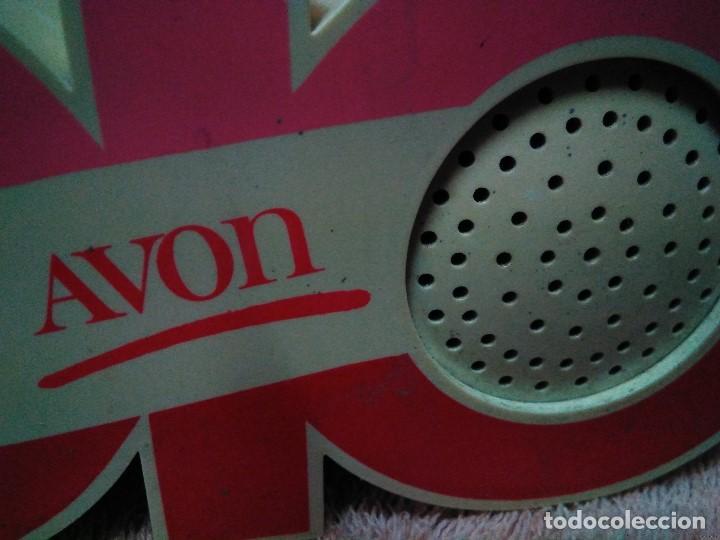 Radios antiguas: ANTIGUA Y RARA RADIO PUBLICIDAD DE AVON - Foto 4 - 118395795