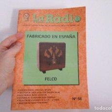 Radios antiguas: LA RADIO DE EPOCA NUMERO 56 ASOCIACION ACAR . Lote 119075675