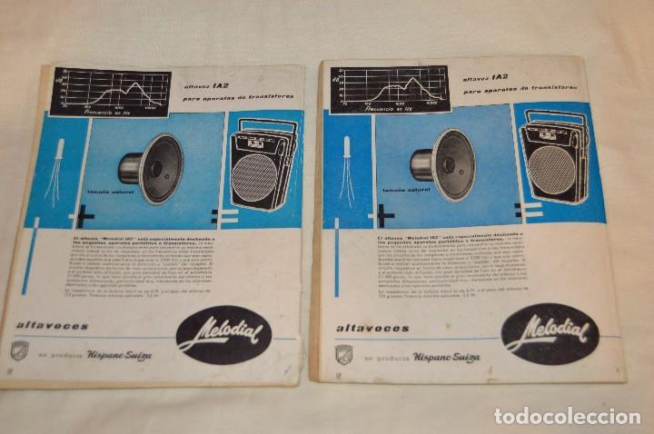 Radios antiguas: LOTE DE 8 EJEMPLARES CON 9 NÚMEROS - REVISTA ESPAÑOLA DE ELECTRÓNICA - AÑOS 60 - HAZME UNA OFERTA - Foto 4 - 120506807