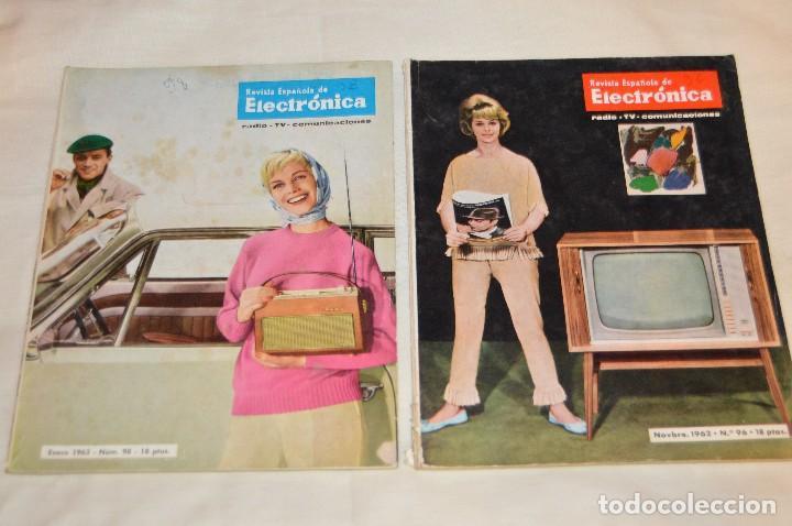 Radios antiguas: LOTE DE 8 EJEMPLARES CON 9 NÚMEROS - REVISTA ESPAÑOLA DE ELECTRÓNICA - AÑOS 60 - HAZME UNA OFERTA - Foto 9 - 120506807