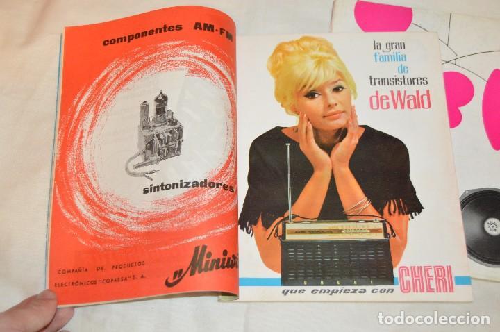 Radios antiguas: LOTE DE 8 EJEMPLARES CON 9 NÚMEROS - REVISTA ESPAÑOLA DE ELECTRÓNICA - AÑOS 60 - HAZME UNA OFERTA - Foto 14 - 120506807