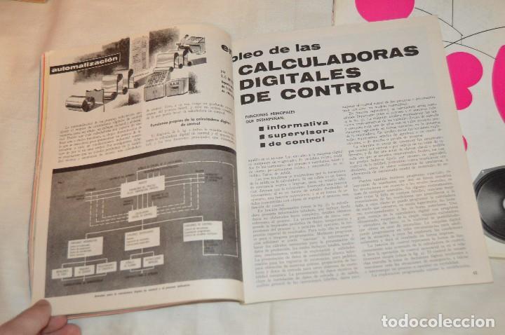 Radios antiguas: LOTE DE 8 EJEMPLARES CON 9 NÚMEROS - REVISTA ESPAÑOLA DE ELECTRÓNICA - AÑOS 60 - HAZME UNA OFERTA - Foto 16 - 120506807