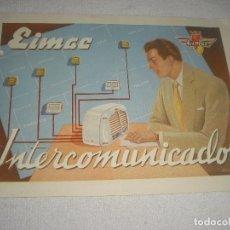 Radios antiguas: EIMAC INTERCOMUNICADOR, ELECTRONICA INDUSTRIAL. Lote 120645691
