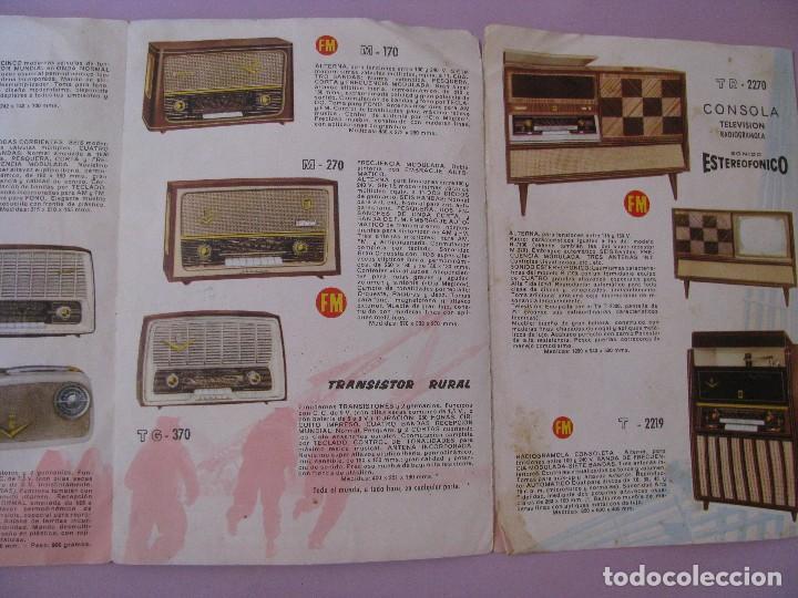 Radios antiguas: CATALOGO RADIOS Y TELEVISIONES IBERIA. AÑOS 60. - Foto 3 - 120819643