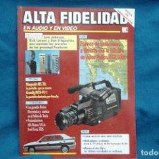 Radios antiguas: ALTA FIDELIDAD Nº 4 AÑO 1990. Lote 122546779