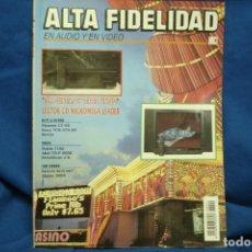 Radios antiguas: ALTA FIDELIDAD Nº 22 AÑO 1992. Lote 122554131
