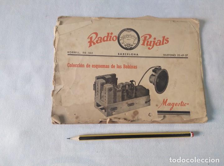 LIBRO ESQUEMAS DE RADIO PUJALS (Radios, Gramófonos, Grabadoras y Otros - Catálogos, Publicidad y Libros de Radio)