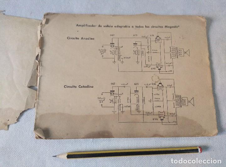 Radios antiguas: libro esquemas de radio pujals - Foto 2 - 124716791