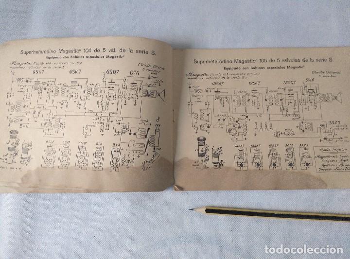 Radios antiguas: libro esquemas de radio pujals - Foto 4 - 124716791