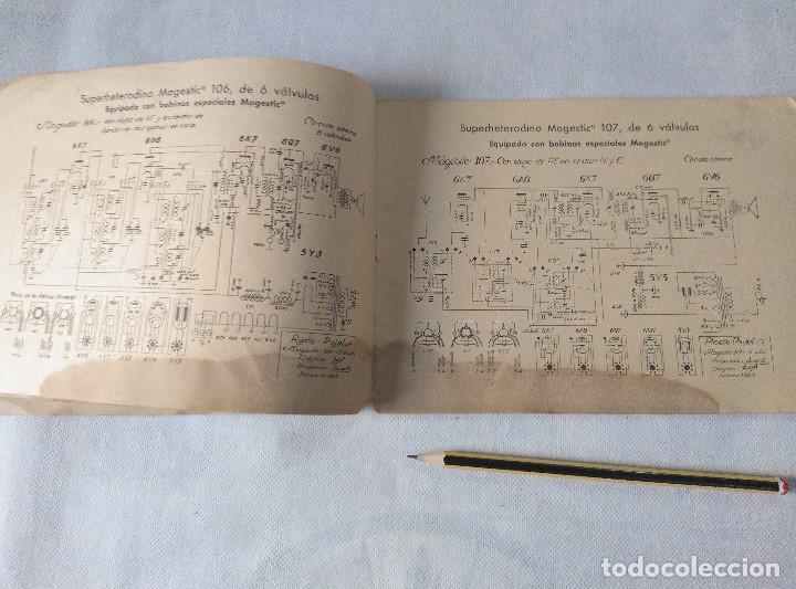 Radios antiguas: libro esquemas de radio pujals - Foto 5 - 124716791