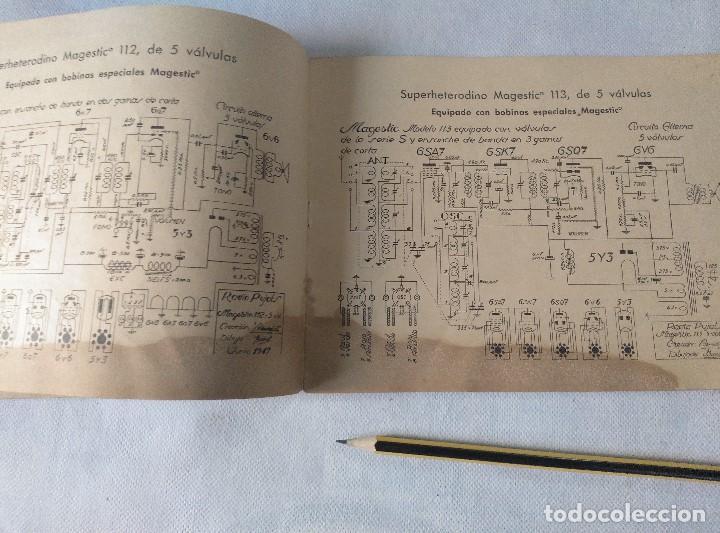 Radios antiguas: libro esquemas de radio pujals - Foto 6 - 124716791