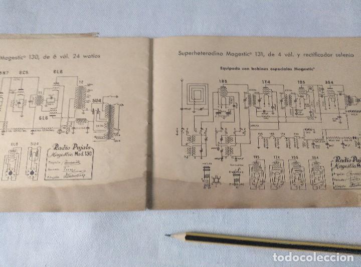 Radios antiguas: libro esquemas de radio pujals - Foto 7 - 124716791