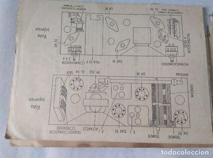 Radios antiguas: libro esquemas de radio pujals - Foto 8 - 124716791