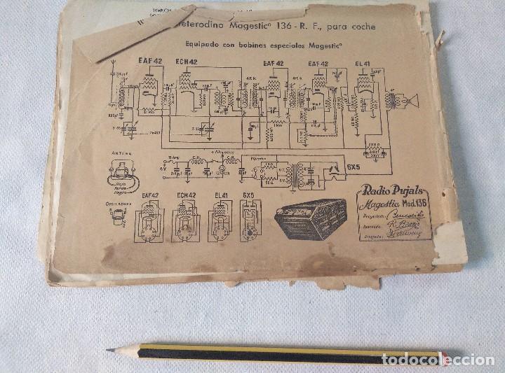 Radios antiguas: libro esquemas de radio pujals - Foto 9 - 124716791