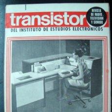 Radios antiguas: REVISTA ELECTRONICA EL TRANSISTOR, NUM. 8 JULIO 1969. Lote 125361255