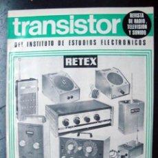Radios antiguas: REVISTA ELECTRONICA EL TRANSISTOR, NUM. 7 JUNIO 1969. Lote 125361487