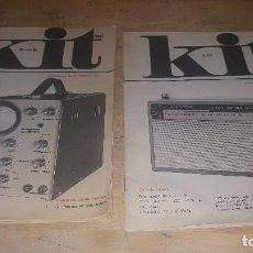 Radios antiguas: KIT, FOLLETOS CURSO APHA, OSCILOSCOPIO Y RECEPTOR DE AM A TRANSISTORES. Lote 125989271