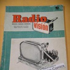 Radios antiguas: RADIO VISIÓN Nº 10, AÑO 1952, REVISTA, EMISORAS, RECEPCIÓN, VALVULAS, TELEVISION, ERCOM A9. Lote 126357495