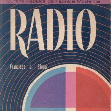 Radios antiguas: FRANCISCO SINGER : RADIO (CONTINENTAL, 1975). Lote 126730491