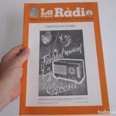 Radios antiguas: LA RADIO DE EPOCA NUMERO 14 ASOCIACION ACAR ABRIL 1997. Lote 127570455