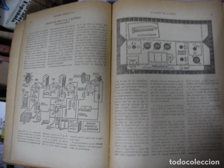 Radios antiguas: ANTIGUO LIBRO DE RADIO - EL HOBBY DE LA RADIO - DE LA GALENA AL SUPERHETERODINO - Foto 2 - 127975923