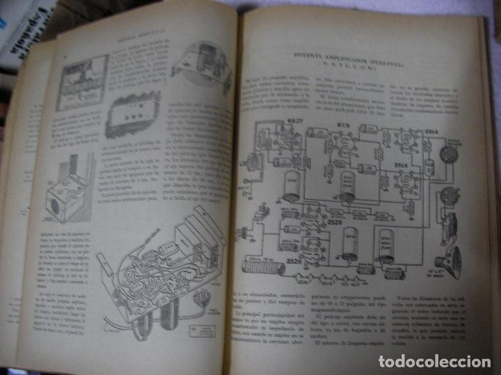 Radios antiguas: ANTIGUO LIBRO DE RADIO - EL HOBBY DE LA RADIO - DE LA GALENA AL SUPERHETERODINO - Foto 3 - 127975923