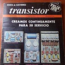 Radios antiguas: TRANSISTOR Nº 58 - ENERO 1974 - REVISTA CON ESQUEMAS Y DEMAS.... Lote 129001547