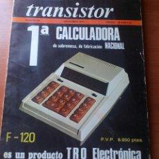 Radios antiguas: TRANSISTOR Nº 56 - NOVIEMBRE 1973 - REVISTA CON ESQUEMAS Y DEMAS.... Lote 129001795