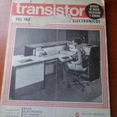 Radios antiguas: TRANSISTOR Nº 8 - JULIO 1969 - REVISTA CON ESQUEMAS Y DEMAS.... Lote 129001871