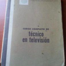 Radios antiguas: CURSO COMPLETO DE TECNICO EN TELEVISION - DIFUSORA PANAMERICANA - AÑOS 70. Lote 129002803