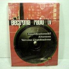 Radios antiguas: LIBRO ELECTRONIA RADIO TV-TOMO IV ALTA FIDELIDAD. EDICIONES AFHA 1980. ELECTRÓNICA 4 CUATRO. Lote 129556163