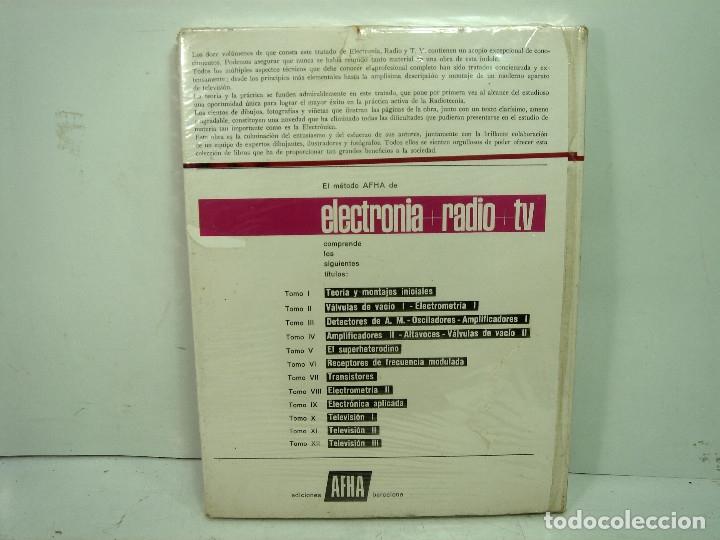 Radios antiguas: LIBRO ELECTRONIA RADIO TV-TOMO IV ALTA FIDELIDAD. EDICIONES AFHA 1980. ELECTRÓNICA 4 CUATRO - Foto 2 - 129556163