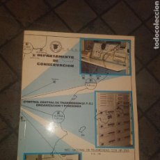 Radios antiguas: DEPARTAMENTO DE CONSERVACION CONTROL DE TRANSMISIONES. Lote 131093227