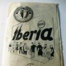 Radios antiguas: CATALOGO PUBLICIDAD RADIO IBERIA AÑO 1953 TRIPTICO DESPLEGABLE 15 / 9 CM . Lote 131310083