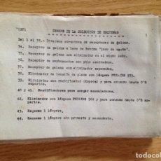 Radios antiguas: COLECCION DE ESQUEMAS-ESCUELA DE RADIO. Lote 132592958