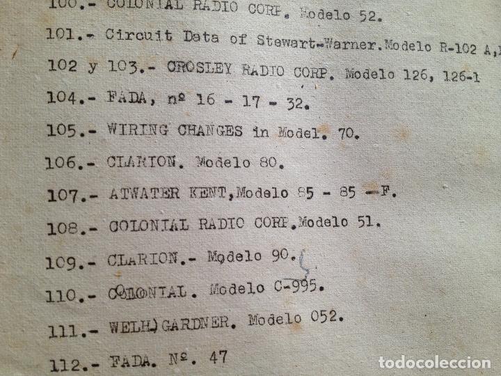 Radios antiguas: COLECCION DE ESQUEMAS-ESCUELA DE RADIO - Foto 2 - 132592958