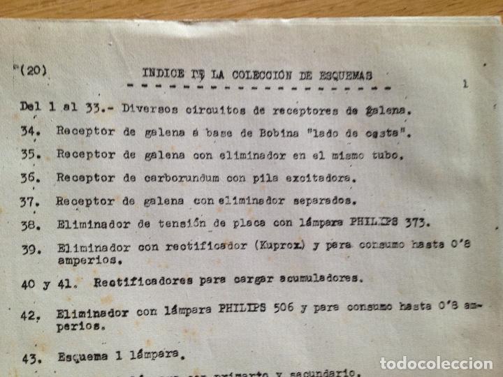 Radios antiguas: COLECCION DE ESQUEMAS-ESCUELA DE RADIO - Foto 3 - 132592958