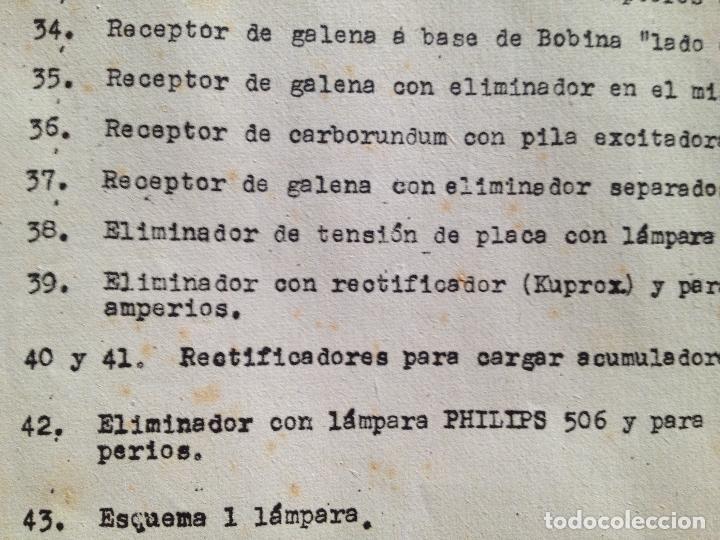Radios antiguas: COLECCION DE ESQUEMAS-ESCUELA DE RADIO - Foto 4 - 132592958