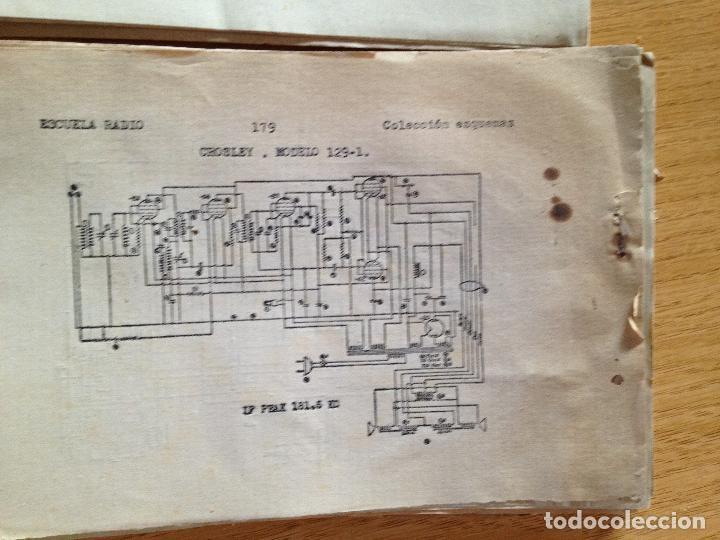 Radios antiguas: COLECCION DE ESQUEMAS-ESCUELA DE RADIO - Foto 5 - 132592958