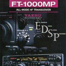 Radios antiguas: YAESU FT-1000MP - CATALOGO OFICIAL - JAPON - RADIOAFICIONADOS. Lote 133160990
