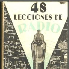 Radios antiguas: B1275 - RADIO. ANTIGUO CURSO DE RADIO. TOMO III. JOSE SUSMANSCKY. ED. HOBBY ARGENTINA 1949.. Lote 133512462