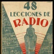 Radios antiguas: B1276 - RADIO. ANTIGUO CURSO DE RADIO. TOMO I. JOSE SUSMANSCKY. ED. HOBBY ARGENTINA 1950.. Lote 133512650