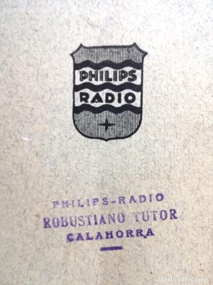 Radios antiguas: LIBRO DE INTALACIONES AMPLIFICADORAS PHILIPS IBERIA.23 PAGINAS. - Foto 6 - 133797218