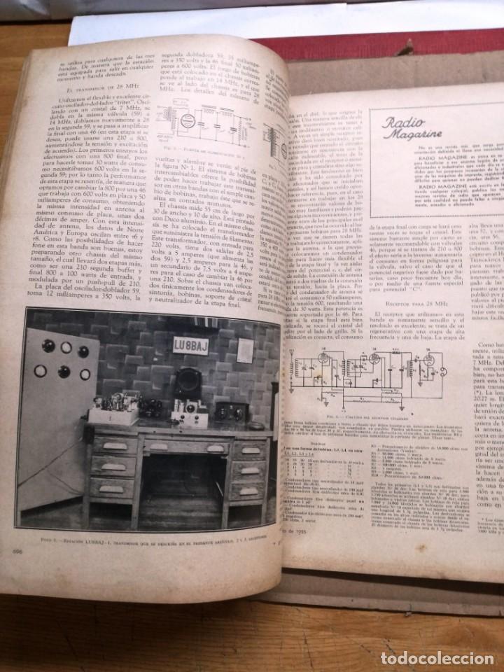 Radios antiguas: REVISTA TELEGRAFICA AGOSTO DE 1935.MUCHOS ANUNCIOS DE LA EPOCA. - Foto 4 - 133797774